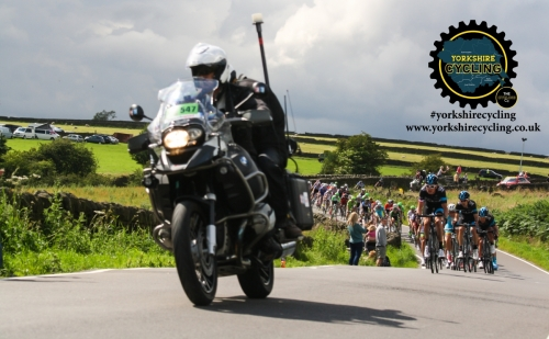 TdF 2014 yorkshire cycling motorcycle