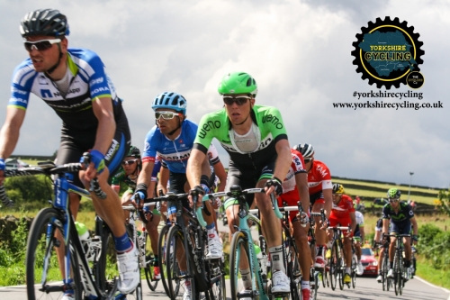TdF 2014 yorkshire cycling peloton