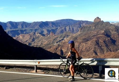 Gran Canaria Cycling Climb Valley