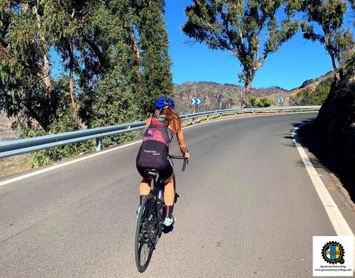 Gran Canaria Cycling chick