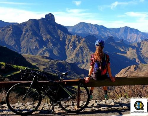 Gran Canaria Cycling climb Soria