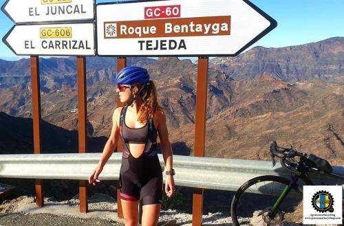 Gran Canaria Cycling climb Tejeda