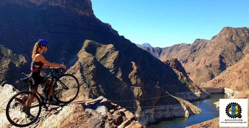 Gran Canaria Cycling climb rocks