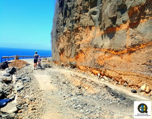 Gran Canaria Cycling erosion