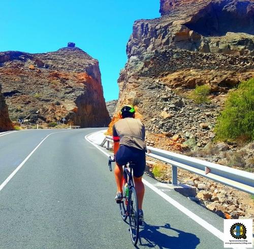 Gran Canaria Cycling rider