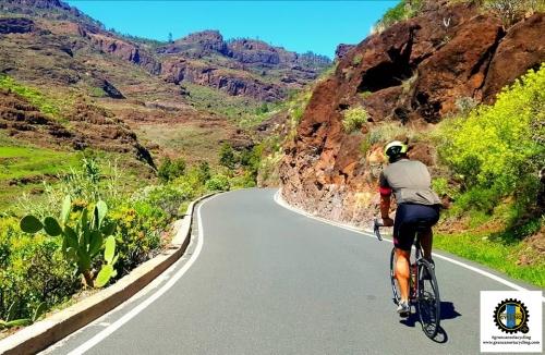 Gran canaria Cycling cyclist