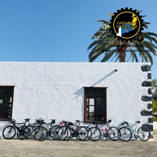 cycling lanzarote cafe