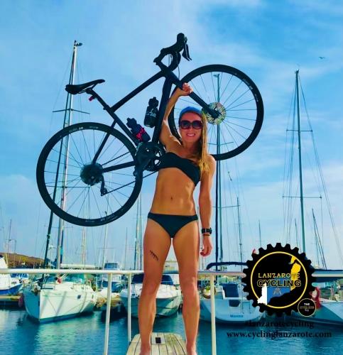 cycling lanzarote calero marina