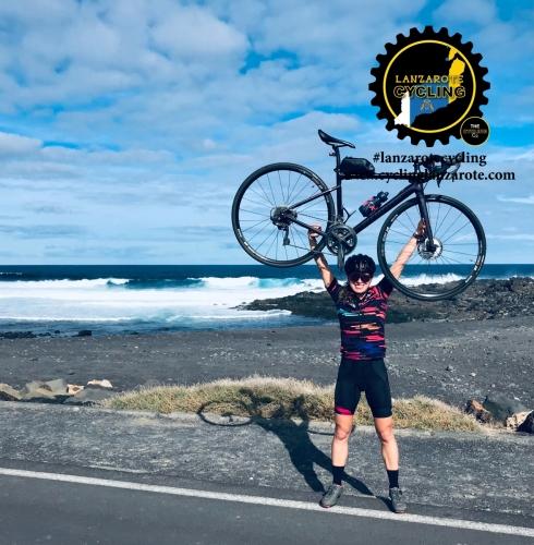 cycling lanzarote el golfo