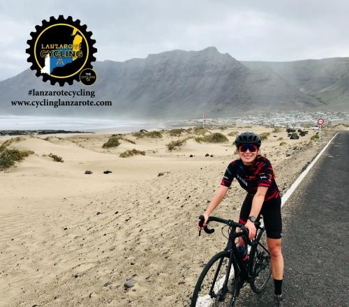 cycling lanzarote famara