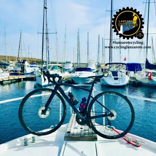 cycling lanzarote marina