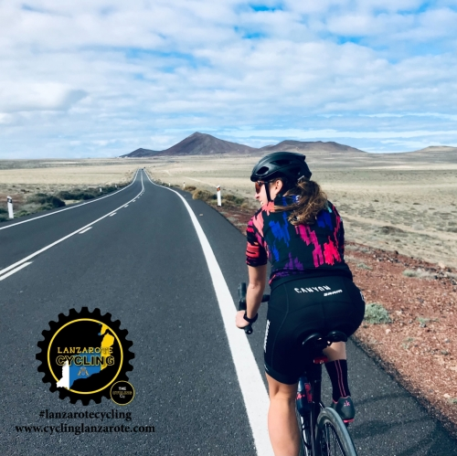 cycling lanzarote views