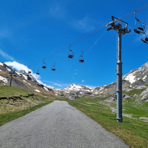 cycling france cycling pyrenees cable cars mountains