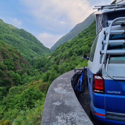 cycling france cycling pyrenees camper view tourmalet