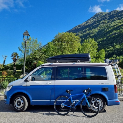 cycling france cycling pyrenees vw camper california tourmalet