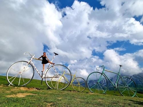 cycling france pyrenees bikes carys