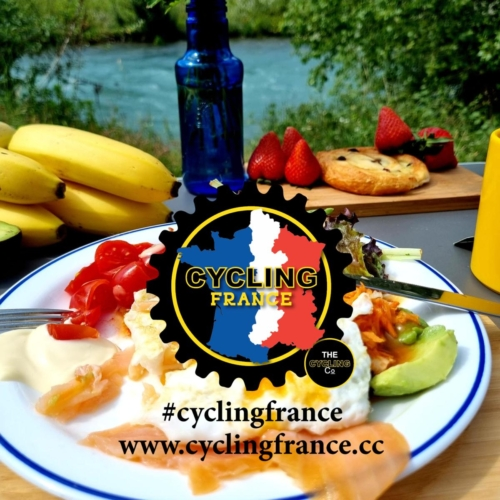 cycling france pyrenees breakfast view (2)